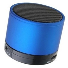 Mini Haut Parleur Bluetooth & MP3 Bleu