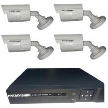 KIT 4 CAMERA AHD 2M+DVR 4PORTS
