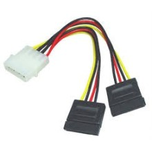 CABLE ALIMENTATION MOLEX SATA DOUBLE