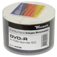 BOBINE DVD-ROM +R TRAXDATA IMPRIMABLE