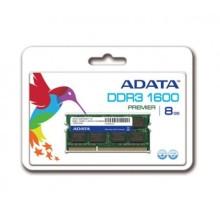 BARETTE MEMOIRE SODIMM 8 Go DDR3 1600MHz ADATA