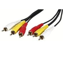 Câbles 3RCA To 3RCA 5M