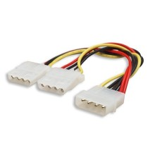 CABLE MOLEX FEMELLE TO 2 MALE