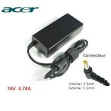 Chargeur pour Acer 19V 4.74A 5.5*2.5mm