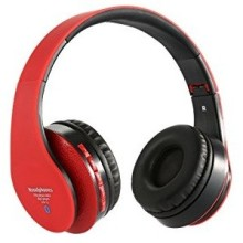 CASQUE BLUETOOTH STN-12 ROUGE
