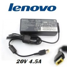 Chargeur Lenovo 20V 4.5A à bec rectangulaire
