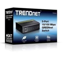 SWITCH 5 PORT 10/100 TRENDnet  TE100-S5