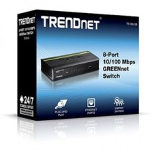 SWITCH 8 PORT 10/100 TRENDnet  TE100-S8
