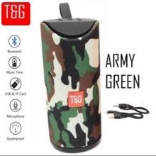 TG113 Haut-Parleur Bluetooth Sans Fil Avec Poignée (Militaire)