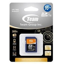 CARTE MEMOIRE SD 16Go CLASS10 TEAM GROUP