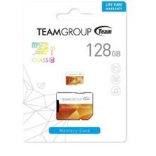 Carte Mémoire Micro SD 128GO TEAM GROUP  Class 10 avec Adaptateur