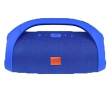 BOOMBOX Haut-Parleur Bluetooth Sans Fil (Bleu)