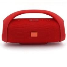 BOOMBOX Haut-Parleur Bluetooth Sans Fil (Rouge)