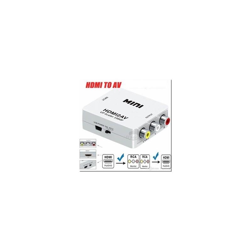 CONVERTISSEUR HDMI TO AV2