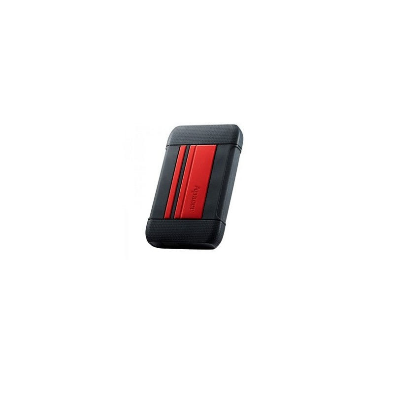 "DISQUE DUR EXTERNE 1To SHOCKPROOF IMPERMEABLE APACER AC633 USB 3.1/2.5"" ROUGE"