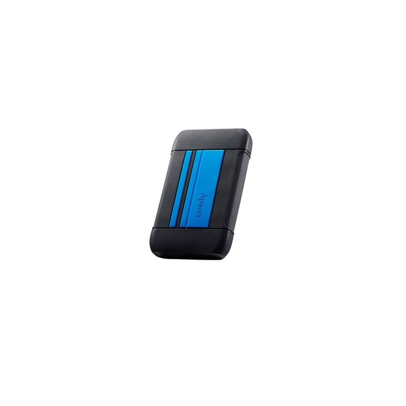 "DISQUE DUR EXTERNE 1To SHOCKPROOF IMPERMEABLE APACER AC633 USB 3.1/2.5"" BLEU"