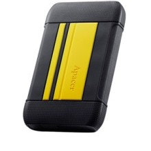 "DISQUE DUR EXTERNE 1To SHOCKPROOF IMPERMEABLE APACER AC633 USB 3.1/2.5"" JAUNE"