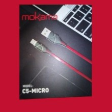 Cable charge Mokama C5-Micro USB 3.1A 1M