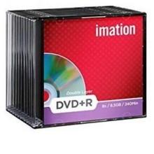 DVD+R IMATION DOUBLE COUCHE AVEC SLIM CASE