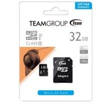 CARTE MEMOIRE MICRO SD 32G CLASS 10 TEAM GROUP