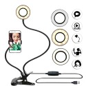 Selfie LED Ring Light avec support pour Smartphone